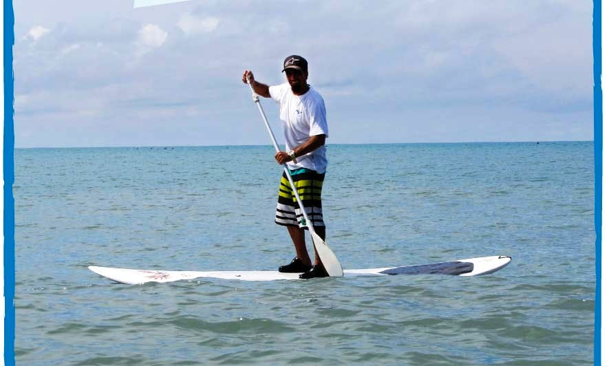 Paddleboard in Río Hato