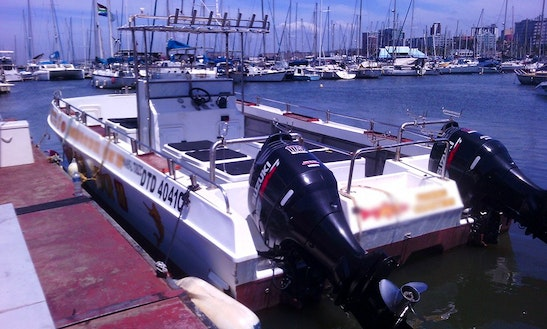Spacious Boat For Fishing Tours From Durban, South Africa