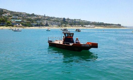 Enjoy Fishing In Mossel Bay, Western Cape On A Jagermeilter Power Catamaran