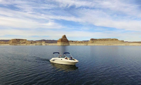 Deck Boat Rental In Big Water