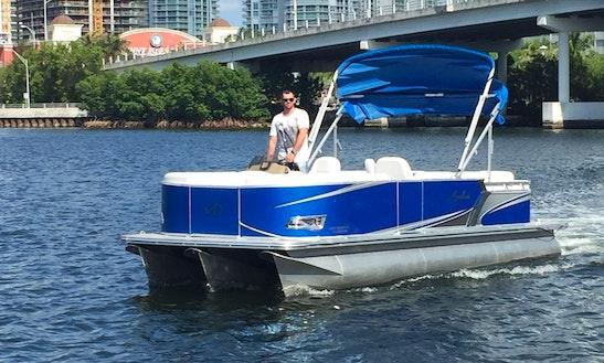 2016 Pontoon Boat 115hp  Engine