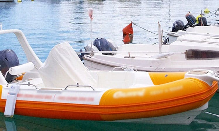Rent 16' Nautica RP Rigid Inflatable Boat in Baška, Croatia