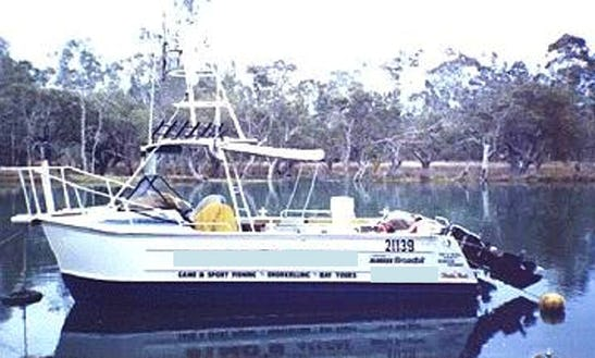 Enjoy Fishing In Woollamia, New South Wales, Australia 20' Sport Fisherman