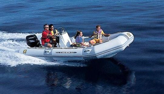 Rent 16' Zodiac Rigid Inflatable Boat In Cres, Croatia