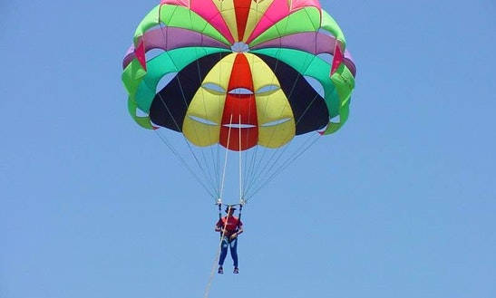 Enjoy Single Parasailing In Cres, Croatia