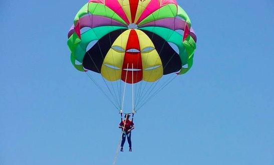 Enjoy Single Parasailing In Cres, Croatia
