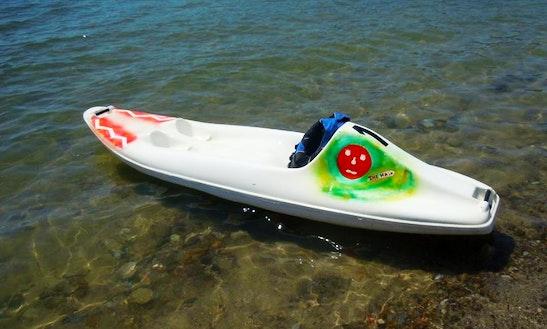 Rent A Single Kayak In Lacona, Toscana, Italy