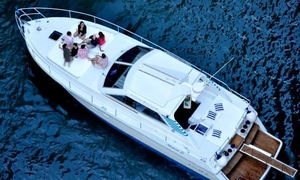 Charter 45' Raffaelli Mistral Motor Yacht in Napoli, Italy