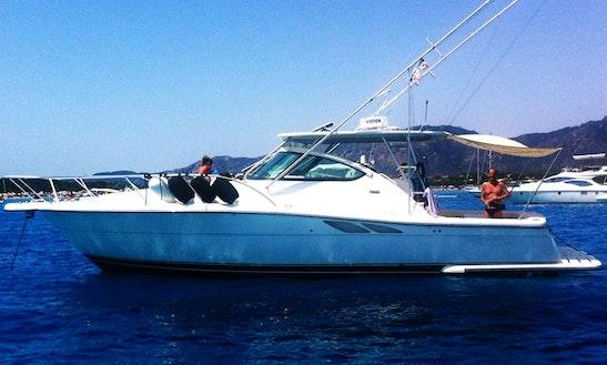 Enjoy Fishing In Cagliari, Italy On 38' Tiara Cuddy Cabin