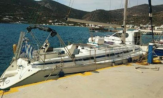 Sailboat For Charter In Sifnos ,kimolos And Milos