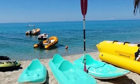 Enjoy Paddle Boat Rentals in Santa Domenica, Calabria
