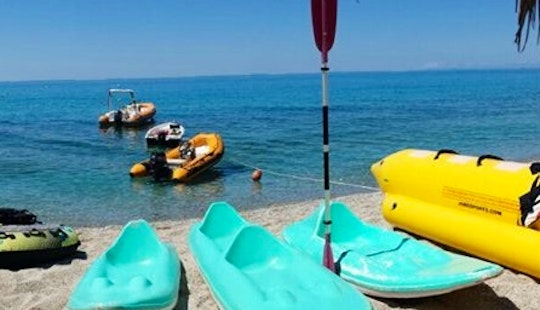 Enjoy Paddle Boat Rentals In Santa Domenica, Calabria