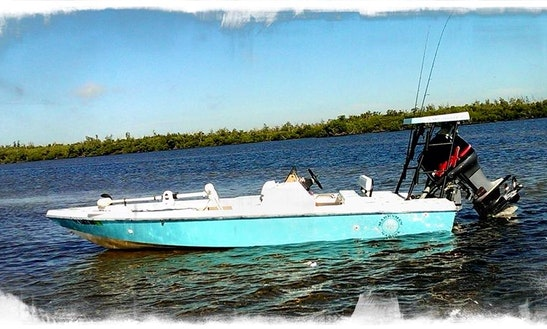 Fishing Charter Inshore Back Bay In Punta Gorda, Charlotte Harbor, Placida, & Boca Grande