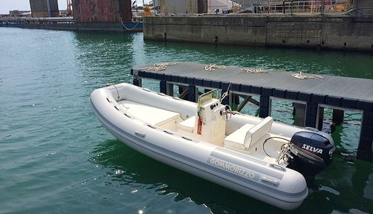 Rent 15' Gommone Bsc Rigid Inflatable Boat In Carrara, Italy