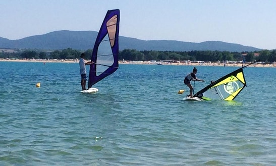 Enjoy Windsurfing In Chervenka, Burgas, Bulgaria