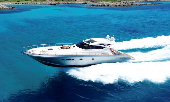 Charter 60' Cayman Power Mega Yacht In Porto Cervo, Italy