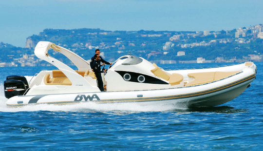 Charter 33' Bwa Rigid Inflatable Boat In Porto Cervo, Italy