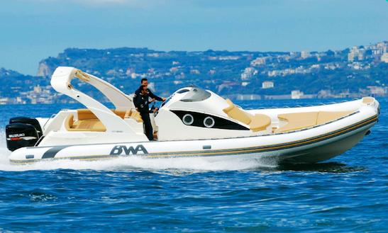 Charter 33' Bwa Rigid Inflatable Boat In Porto Cervo, Italy