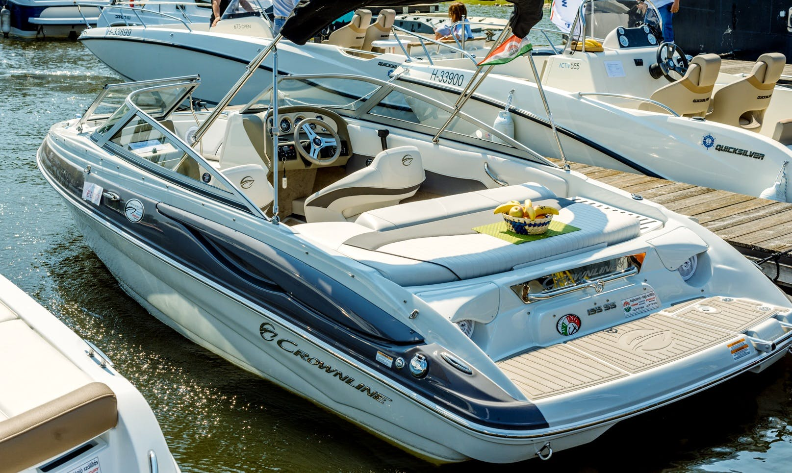 Rent a 19' Crownline 195 SS Motor Yacht in Budapest, Hungary