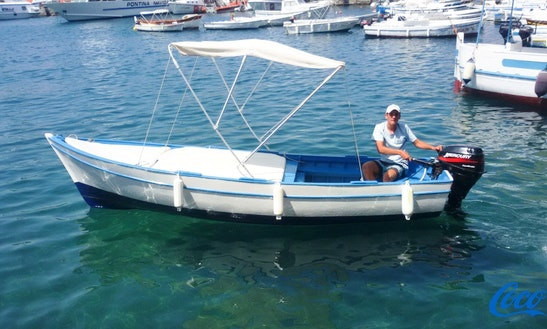 Rent 18' Lancia Dinghy In Ponza, Italy