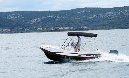 Rib Motor Boat For Rent In Kavala