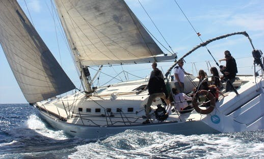 """Sailing Charter On 47ft """"Jaleo"""" Beneteau First Sailboat In Barcelona, Spain"""