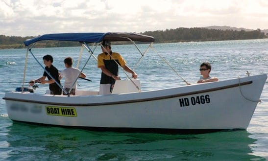 Runabout Boat For Hire At Lake Macquarie