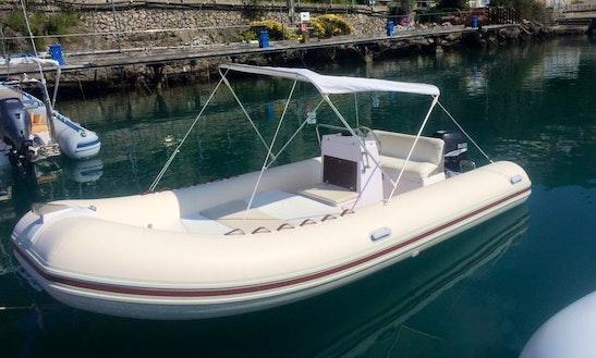 Rent 16' Ace Rigid Inflatable Boat In Porto Santo Stefano, Italy