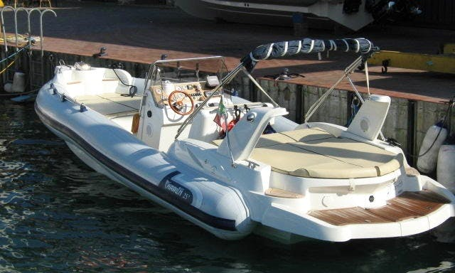 Rent 27' Marlin EFB Rigid Inflatable Boat in Paratico, Lombardia