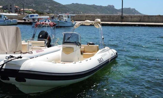 Rent 23' Sacs Rigid Inflatable Boat In Sanguinet, Nouvelle-aquitaine