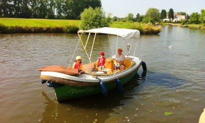 Rent a Electric Boat in Gent, Belgium