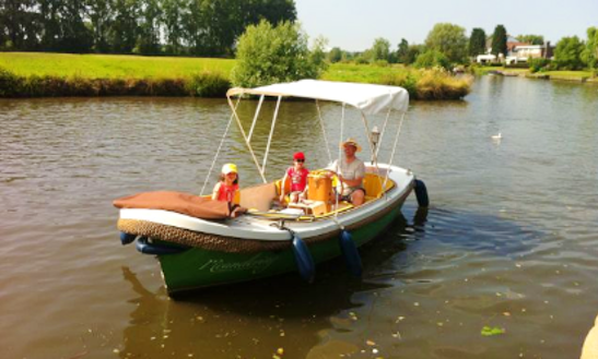 Rent A Electric Boat In Gent, Belgium