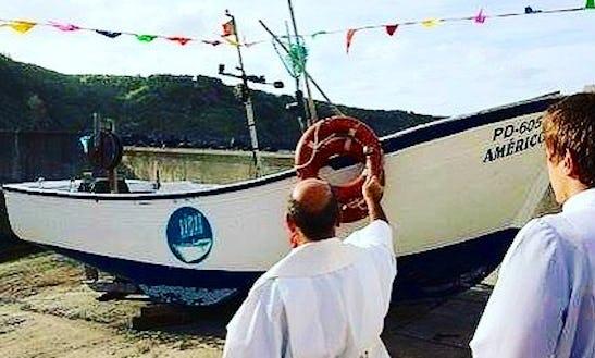 Enjoy Fishing In Porto Formoso, Portugal On Inboard Propulsion