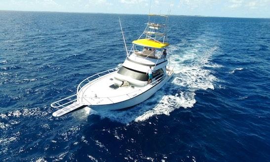54' Striker Sport Fishing Charter In Nassau  Bahamas