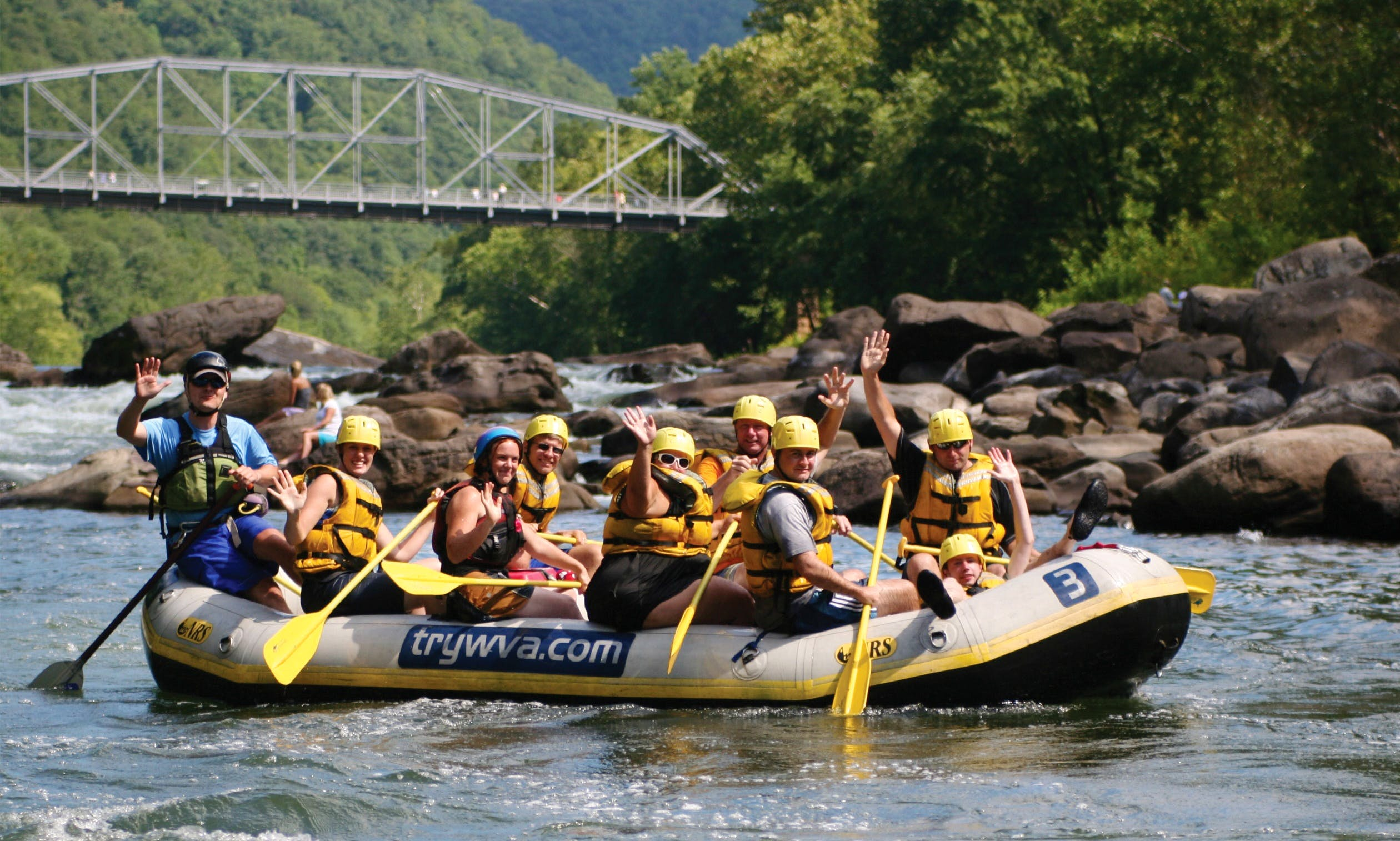 Guided Whitewater Rafting in West Virginia