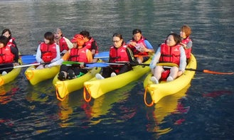 Incomparable Kayak Tours in Hualien City, Taiwan