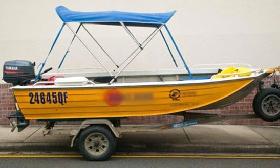 Small Motor Boat For Hire In Underwood