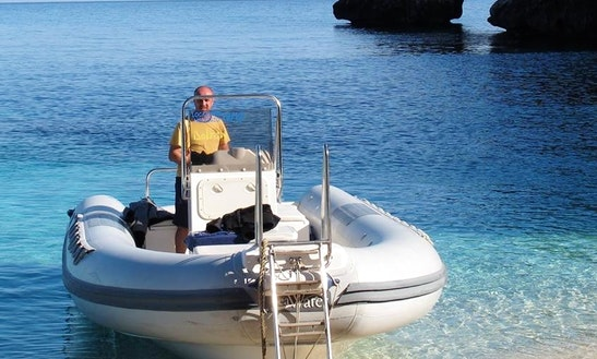 Charter A Rigid Inflatable Boat In Cala Gonone, Italy