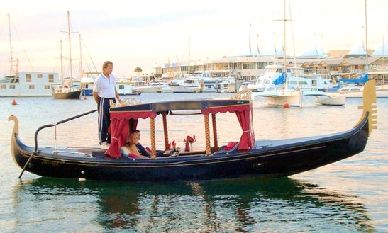 Romantic Dinner Cruise On Luxury Gondola In Main Beach, Australia