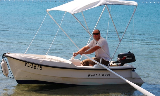 Rent 10' Gof 3 Dinghy In Vela Luka, Croatia