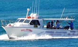 Enjoy Fishing in Queensland, Australia on 42' Trawler