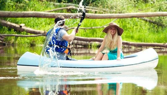 Amazing Canoe Rentals In Sigulda, Latvia