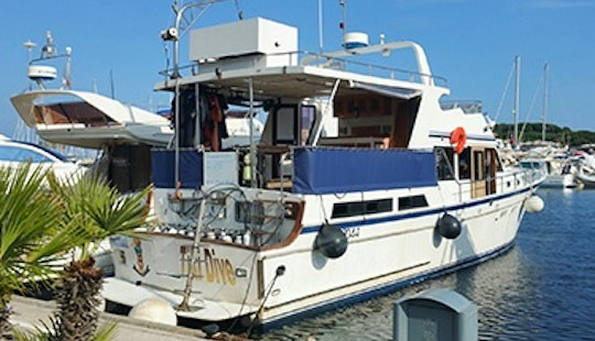 Charter 55' Trawler In Cavalaire-sur-mer, France