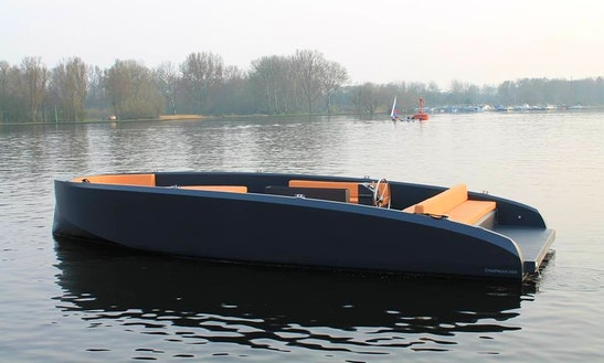 Rent A Electric Boat In Amsterdam, Netherlands