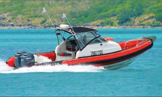 Charter 28' Jupiter Rigid Inflatable Boat In Whitsundays, Australia