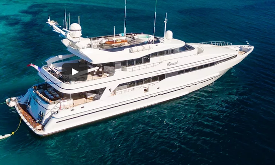 Charter 131' M/y Brazil Power Mega Yacht In Trogir, Croatia