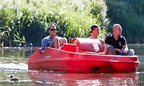 Rent a Paddle Boat in Odense,Denmark