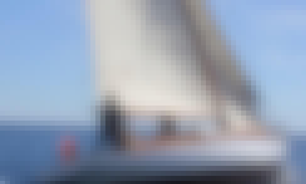"Sailing Charter On 46ft ""Tagomago"" Sailboat In Barcelona, Spain"