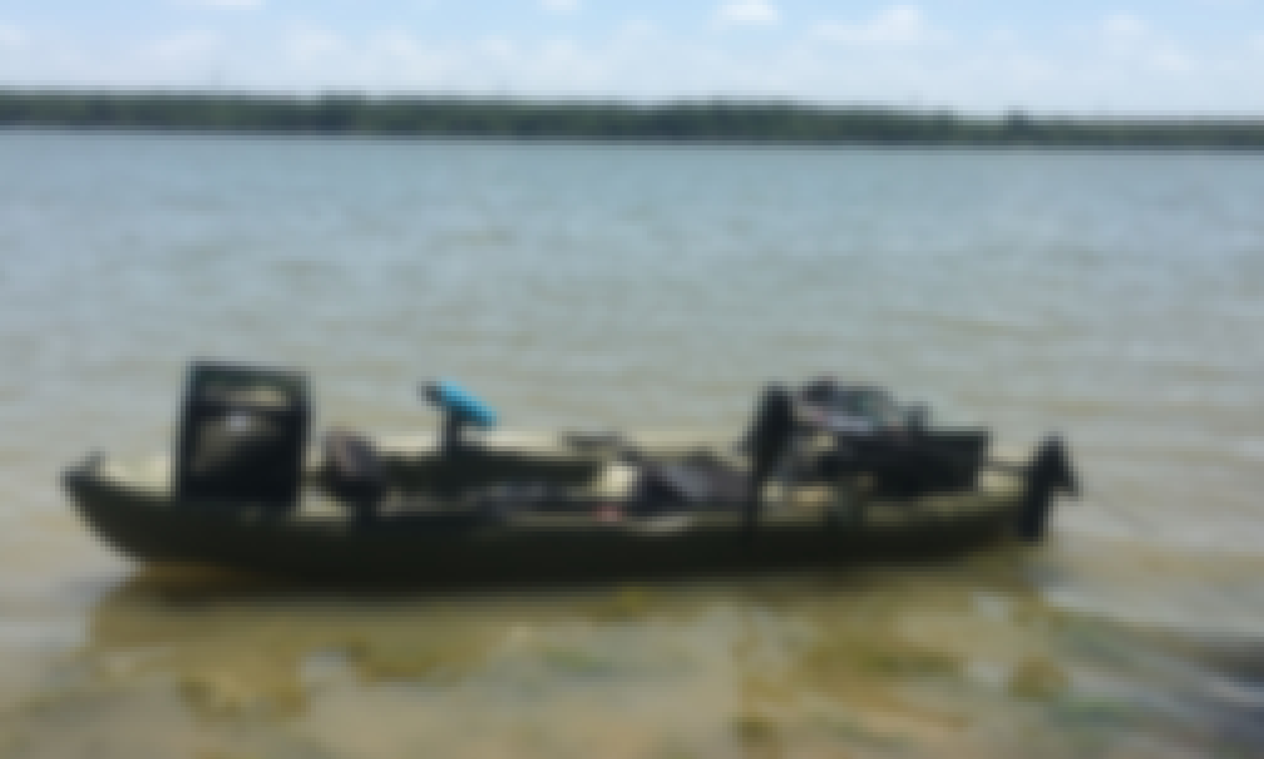 Kayak for rent in Crowley