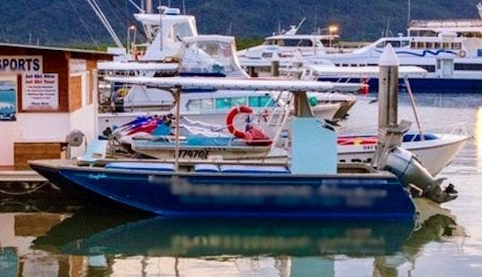 Sportfishing Charter On Trinity Inlet